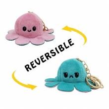 Pieuvre Réversible pieuvre - Porte-clés (Couleurs assorties)