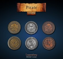 Pirate Coin Set