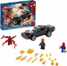 Spider-Man et Ghostrider contre Carnage