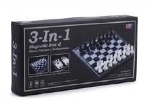 Jeu d'échecs 3 en 1