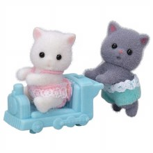 Calico Critters - Famille Persan