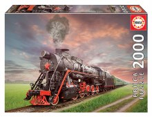 Casse-tête 2000 mcx - Locomotive Vapeur