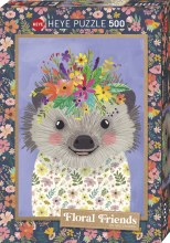 Casse-tête 500 mcx - Funny Hedgehog