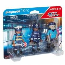 Équipe de policiers