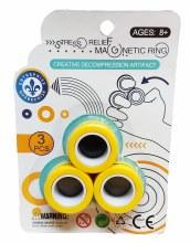 Anneaux magnétiques jaunes