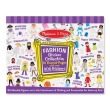 Collection d'autocollants Fashion