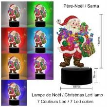 Jacarou Diamants - Lampe Père Noël