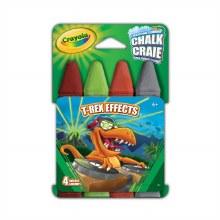 4 Craies pour trottoir - T-Rex Effects