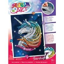 Sequin Art - Stardust la Licorne