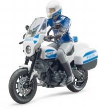 Moto Scrambler Ducati Policier