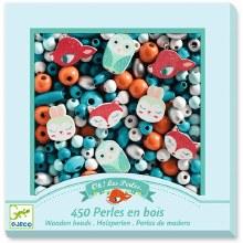 Perles en bois - Petits animaux