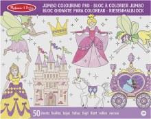 Pad à colorier Jumbo - Princesse