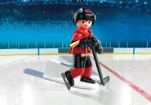 Joueur de hockey - Flames de Calgary