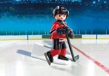 Joueur de hockey - Devils du New Jersey