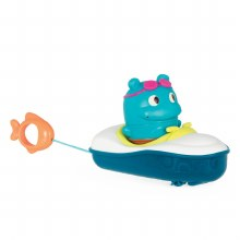 Bateau Pull and Go Rider Hippo