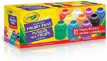10 bouteilles de peintures lavable