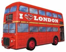Casse-tête 3D, 216 mcx - Autobus de Londre