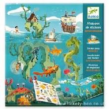 Histoire de Sticker les Aventures en mer
