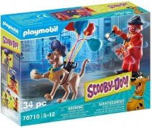 Scooby-Doo avec fantome du clown
