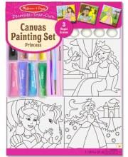 Ensemble de peinture princesse