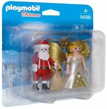Duo Père Noël et Ange