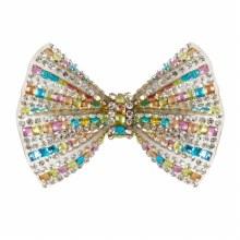 Pince cheveux - Diamant multicolore