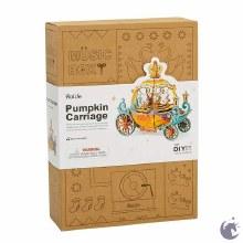 Wooden Music box - Pumpkin Carrage