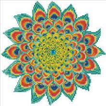 Diamond Dotz - Peacock Mandala