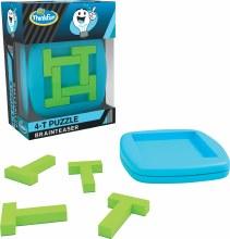 Pocket Brainteaser - 4-T Puzzle