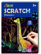 Cartes à gratter junior - Dinosaures