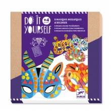 DIY - Masques Mosaïques - Animaux