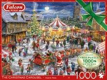 Casse-tête, 1000 mcx - Le caroussel de Noël