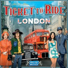 Ticket to Ride - London (Ang.)