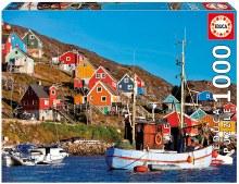 Casse-tête 1000 mcx - Maisons nordiques