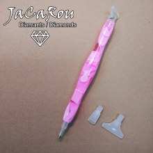 Stylet pour broderie diamants - Rose