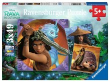3 Casse-tête 49 mcx - Raya and the Last Dragon