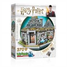 Casse-tête 3D, 285 mcx - La cabanne de Hagrid