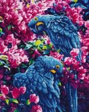 Diamond Dotz - Blue Parrots