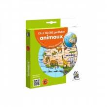 Globe Animaux 30cm