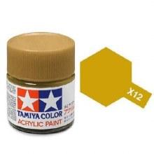 Peinture Tamiya - XF-12 Gold Leaf