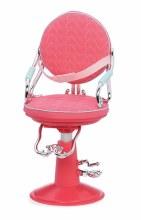 Chaise de coiffeur coeur rose