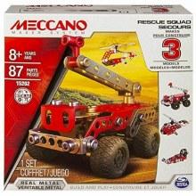 Meccano 3en1 Recue Squad