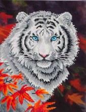 Diamond Dotz - Tigre Blanc en automne