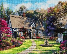 Crystal Art - Country Cottage - Large