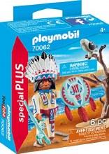 Chef de tribu autochtone