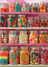 Casse-tête 1000 mcx - Candy Shelf