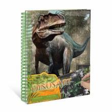 DinosArt - Tableaux à Gratter