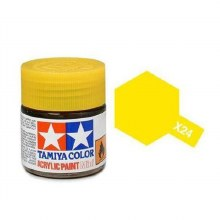 Peinture Tamiya - XF-24 Clear Yellow