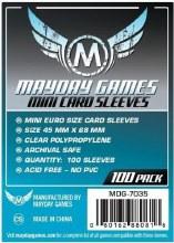 100 Protecteurs de cartes - 45mm x 68mm