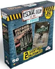 Escape Room - Coffret 2 joueurs - 2 scénarios